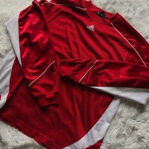 Red Adidas Longsleeve
